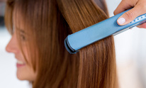 The Styling Station: Hair Straightening
