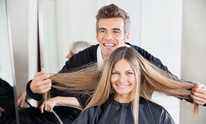 Robin Raines At Cita's World: Hair Straightening