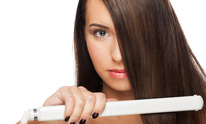 Cutters Salon: Hair Straightening