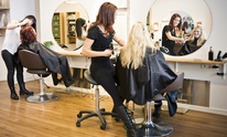 A New Beginning Barber and Style Shop: Hair Straightening