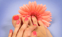 Athena Day Spa: Mani Pedi