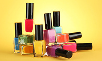 west town salon spa: Mani Pedi