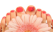 A Gentle Touch Salon and Spa: Mani Pedi