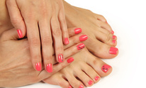 Town & Country Beauty Salon: Mani Pedi