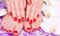 A-1 Hair Care: Mani Pedi