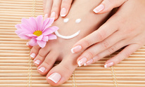 Jabeen Nail Care/Threading Salon: Mani Pedi