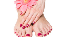 C & M Pools-Spas: Mani Pedi