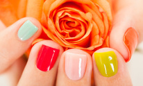 NVS Nails At Linda Luna Esthetics: Manicure