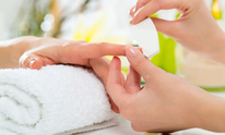 A Touch of Beauty & Bling Salon: Manicure