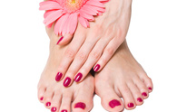 DFine Tanning & Hair Salon: Pedicure