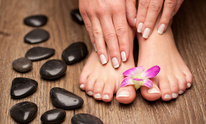 L T Nails: Pedicure