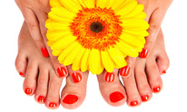 Red Nails 917: Pedicure