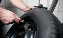 Whitman's Service Center: Flat Tire Repair
