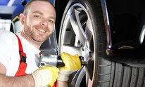 Young Auto Repair: Flat Tire Repair