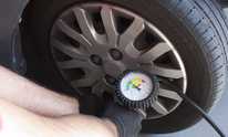 Mobil Service Station Dealer: Flat Tire Repair