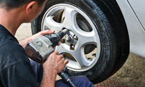 Hall J B Garage & Wrecker Service: Flat Tire Repair