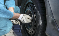 Bakers Garage & Salvage: Flat Tire Repair