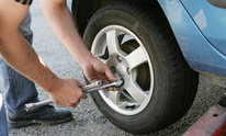 Perkins Auto Paint & Wrecker Service: Tire Mounting