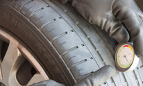 Big Woody's Advantage Tire: Tire Mounting