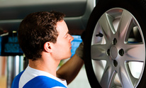 Express Oil Change: Tire Rotation