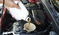 C Lube: Cooling System Flush
