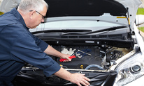 Sanders Collision Center: Fuel System Cleaning