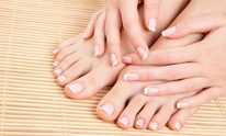 Curl Up & Dye Salon: Pedicure