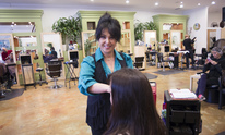 Azin At Brentwood Cut Salon: Haircut