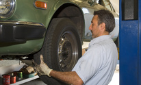 Foreign Car Repair: Flat Tire Repair