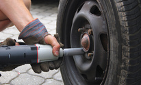 Junior's Automotive: Flat Tire Repair