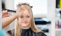 Images Salon: Hair Straightening