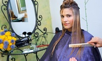 International Results Salon: Hair Straightening