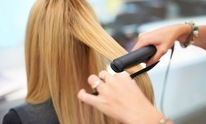 The Hair Shop: Hair Straightening