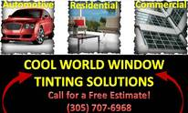 Cool World Window Tinting Solutions: Window Tinting
