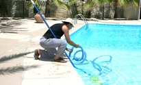 Texas Sun Pools and Spas: Pool Cleaning