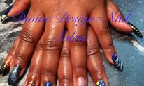 Divine Designz Nail Salon: Pedicure