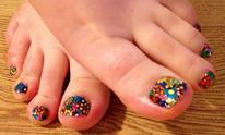 Suzanne M. Wiley, The Nail Genie: Pedicure