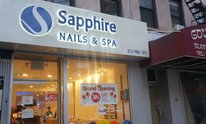 Sapphire Nails And Spa: Pedicure