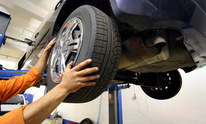 M B Picasso Bodyshop: Tire Mounting