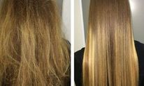 Eden Salon & Spa: Hair Straightening
