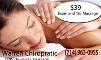 Warren Chiropractic Health Center: Chiropractic Treatment