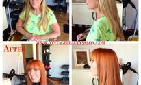 Vintage Beauty Salon: Hair Straightening