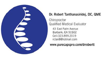 Robert Tanthanasiridej, DC: Chiropractic Treatment