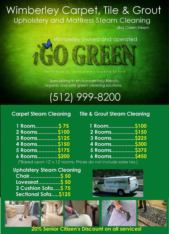 Wimberley TX Green Steam Carpet, Tile And Upholstery Cleaning: Wimberley, TX - Carpet Cleaning | Book Online