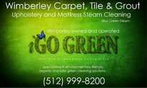 Wimberley TX Green Steam Carpet, Tile And Upholstery Cleaning: Upholstery Cleaning