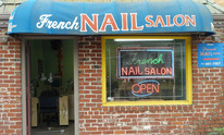 French Nail Salon: Mani Pedi