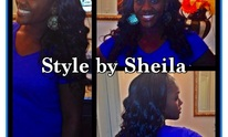 Sheila's Beauty Star Salon: Hair Straightening