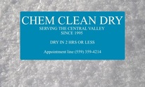 Chem Clean Dry: Carpet Cleaning