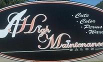 High Maintenance Salon: Conditioning Treatment