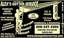 Alex Rain Gutter Installation: Gutter Cleaning